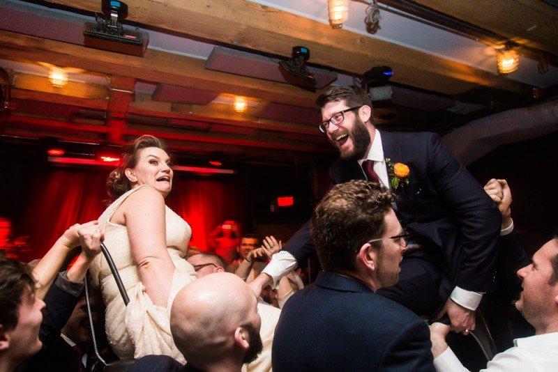 wedding chair dance