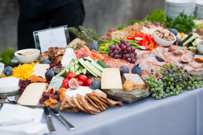 wedding food spread ideas