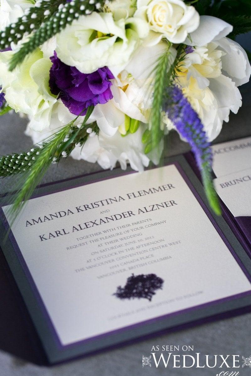 wedding invites  Alicia Keats Wedding Planner