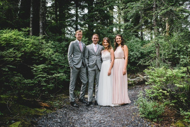 wedding party vancouver