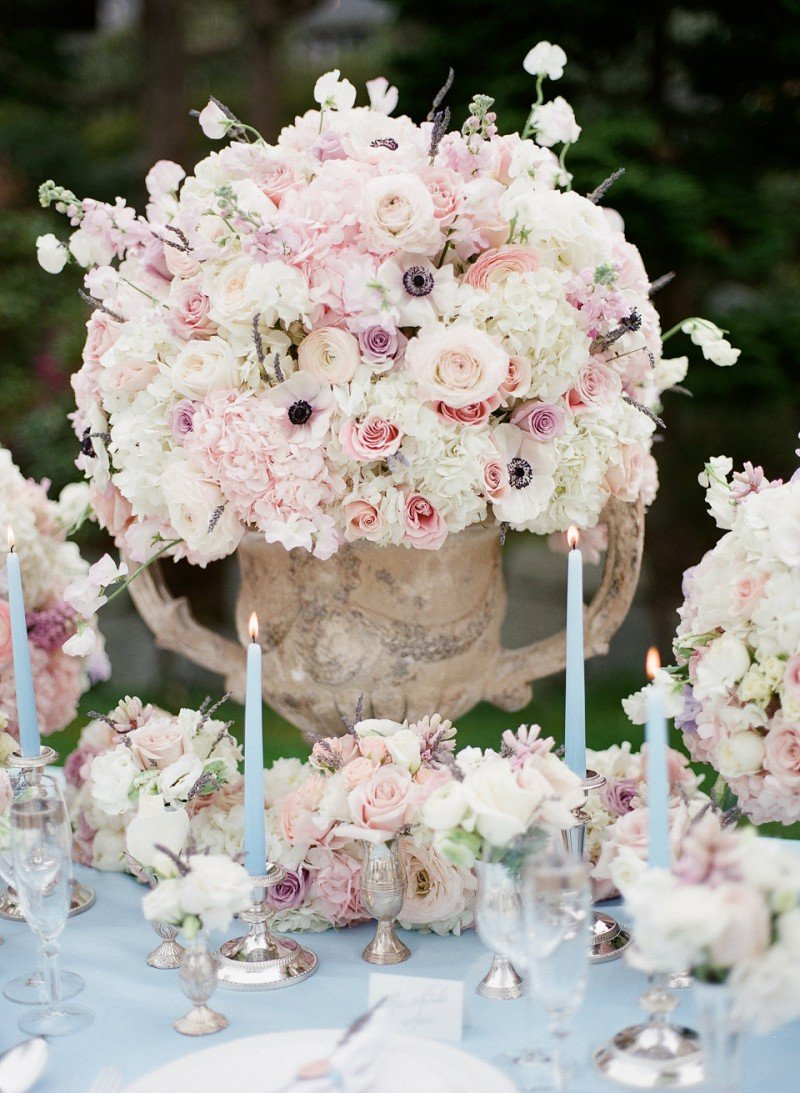 wedding table flowers vancouver