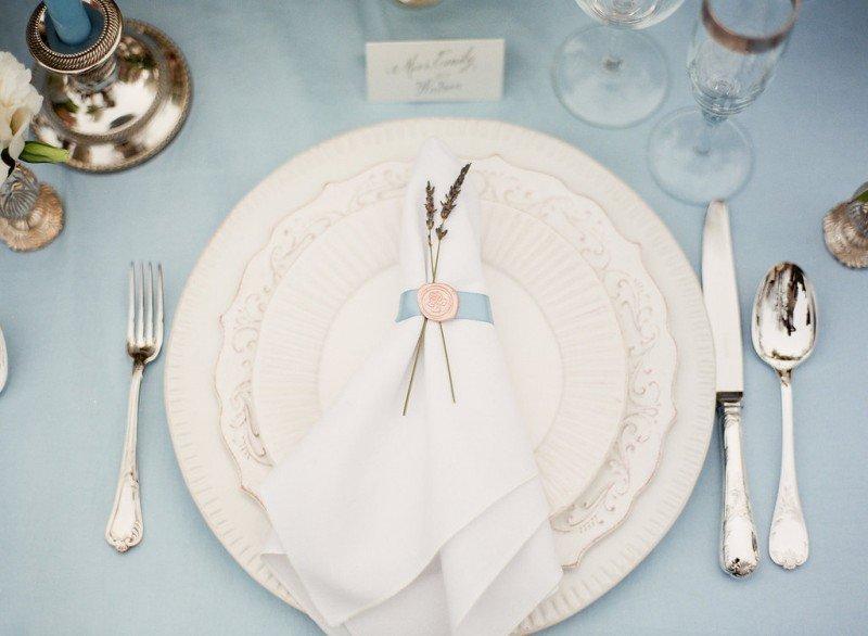 wedding table setting vancouver