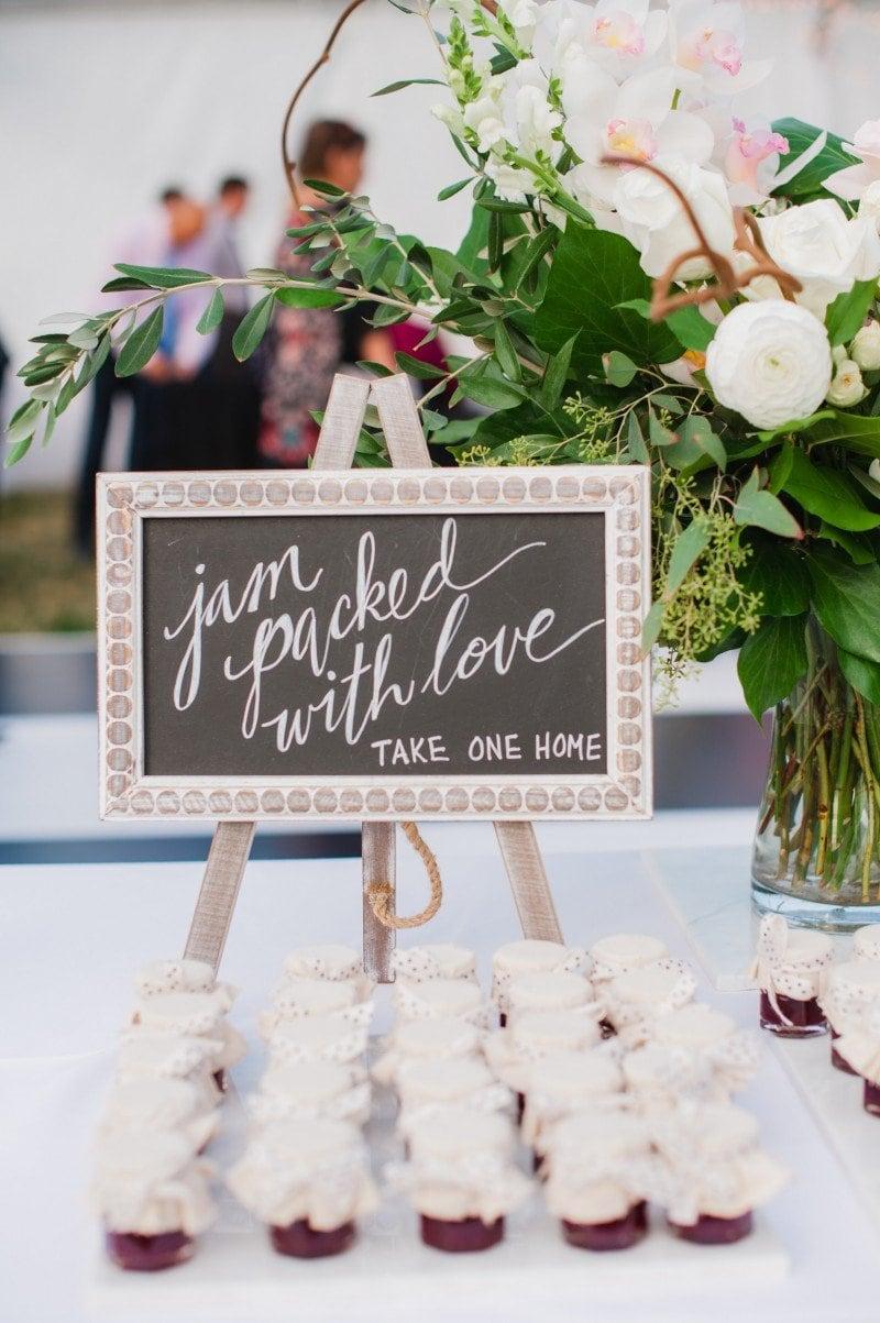 wedding take homes