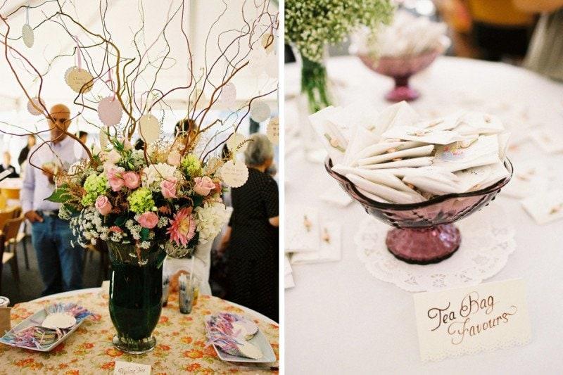 wish tree vintage wedding