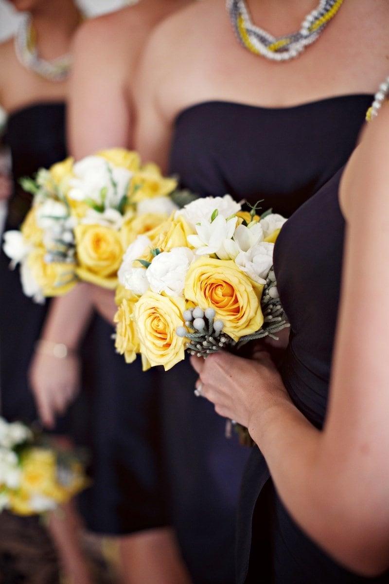 yellow and navy wedding. Vancouver Wedding Planner Alicia Keats